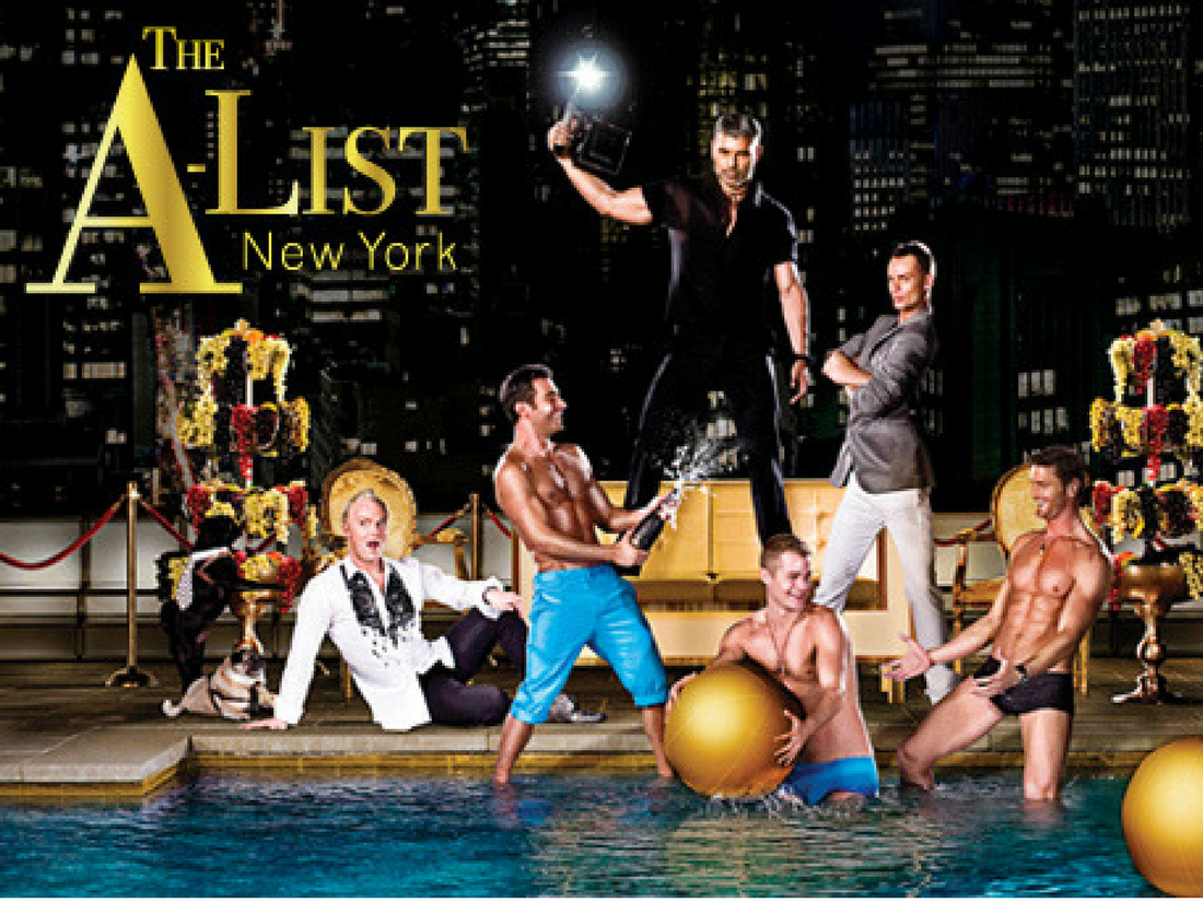 The A-List New York - Logo TV 1