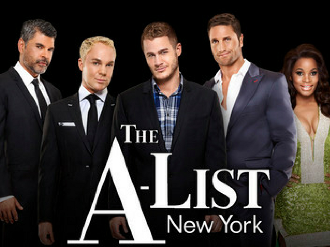 The A-List New York - Logo TV